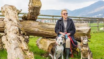 Susanne Klein im Tierdörfli Olten