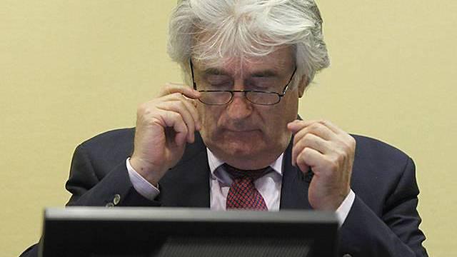 Der frühere bosnische Serbenführer Radovan Karadzic