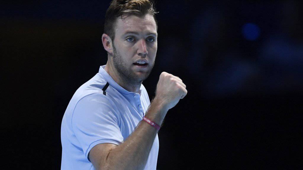 Jack Sock kann sich weiter Hoffnungen auf eine Halbfinal-Teilnahme an den ATP Finals machen.