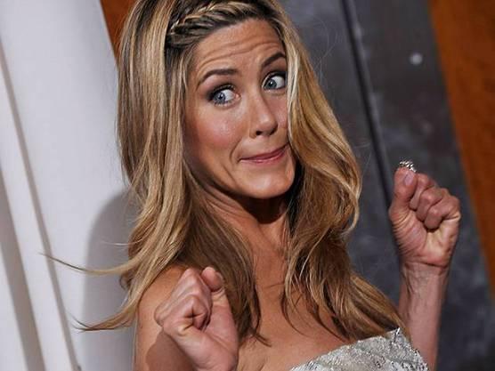 Aniston hält sich fit