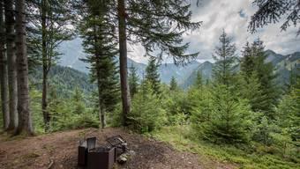 Bräteln im Wald darf man im Bündnerland vorläufig nicht