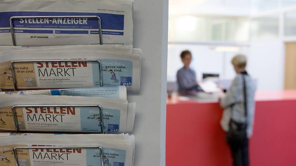 Die Anzahl der offenen Stellen in der Schweiz hat wieder das Niveau von vor der Coronakrise erreicht. (Symbolbild)