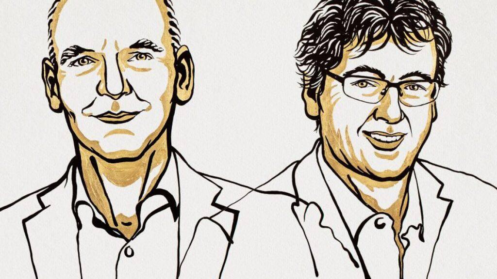 Benjamin List und David MacMillan teilen sich den diesjährigen Chemie-Nobelpreis.