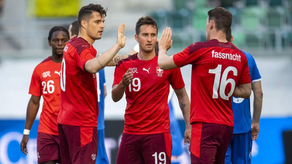 Die Schweiz schiesst sich gegen Liechtenstein warm für die EM