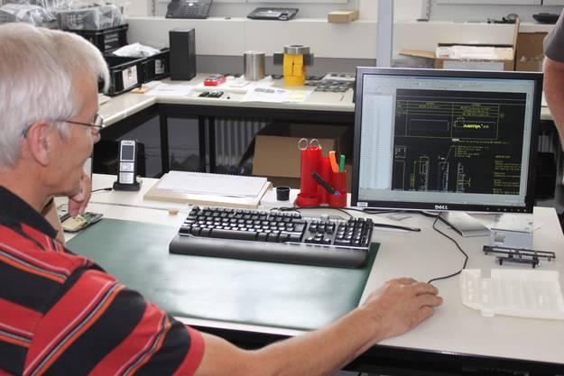 Entwicklungsabteilung von Aastra Telecom in Solothurn