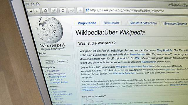 Online-Enzyklopädie Wikipedia