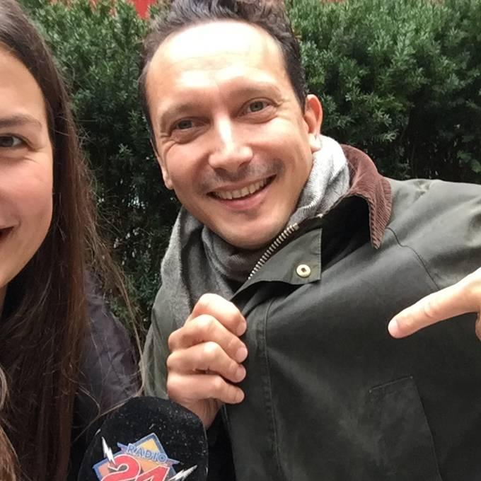 Ufem Bänkli mit «Marta Flohmarkt»-Gründer Daniele Albertinelli
