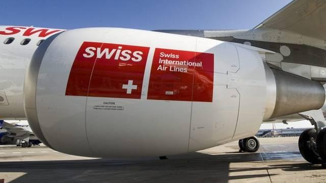 Mehr Passagiere im Februar: Fluggesellschaft Swiss (Archiv)