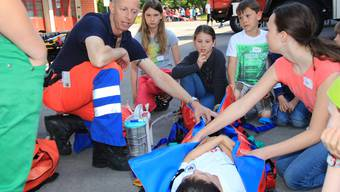 Samariter-Schnuppertag in Schöftland