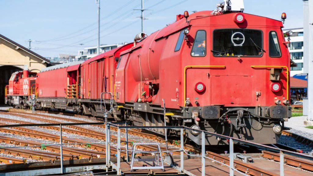 Diesen Lösch- und Rettungszug gibt es im neuen SBB-Onlineshop für ausrangiertes Material ab einer Million Franken zu kaufen.
