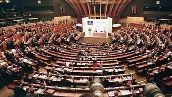 Blick in den Europarat (Archiv)