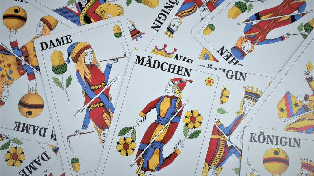 Königin, Dame, Mädchen: Jetzt kommen die weiblichen Jasskarten