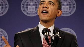 Barack Obama kürzt Gehälter der Spitzenmanager (Archiv)
