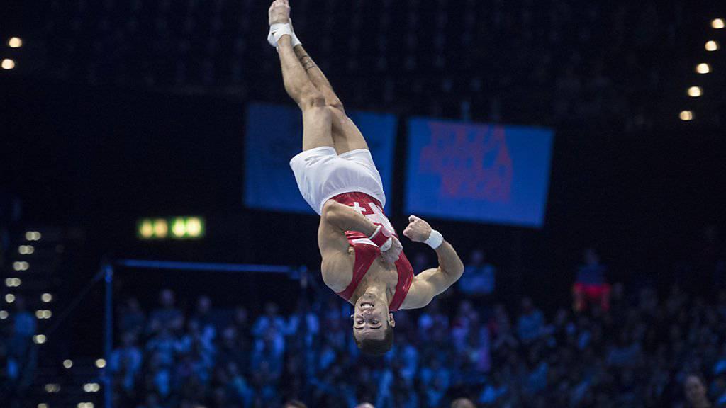 Pablo Brägger, der Sieger des Swiss Cup 2017, zeigt auch heuer wieder sein Können im Zürcher Hallenstadion