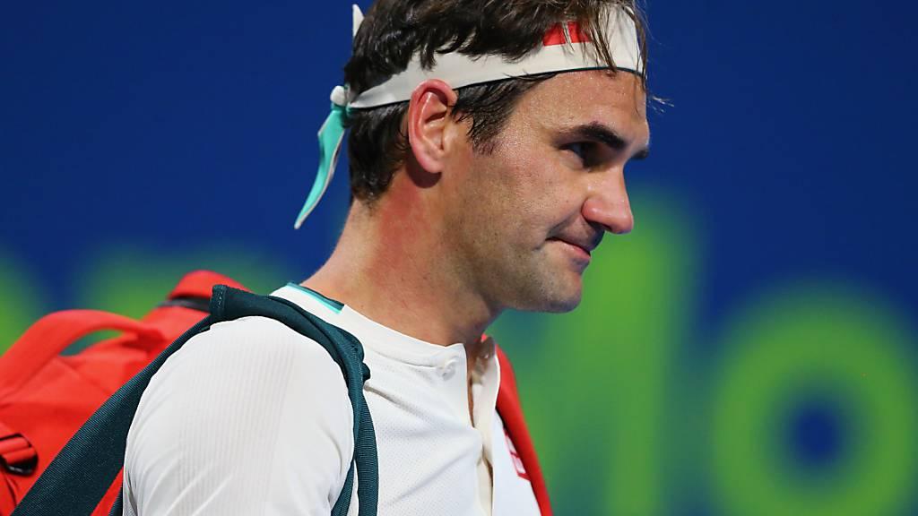 Roger Federer setzt seinen Weg fort: vorerst wieder mit Training