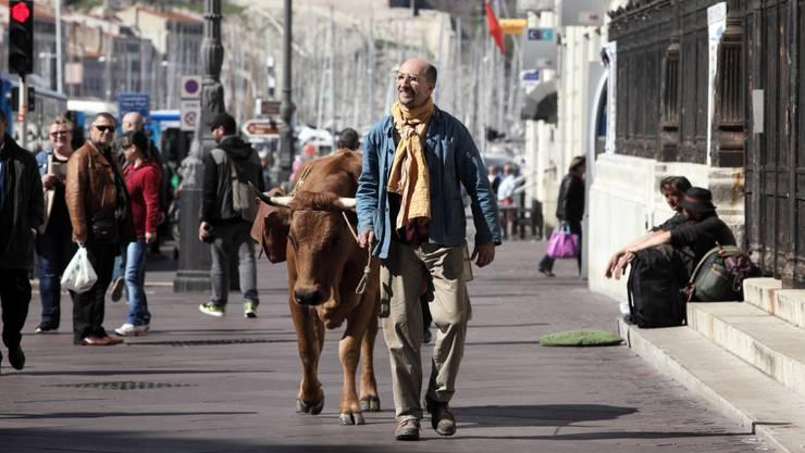 «La Vache»: Bauer Fatah und Kuh Jacqueline auf dem Weg zum Erfolg.