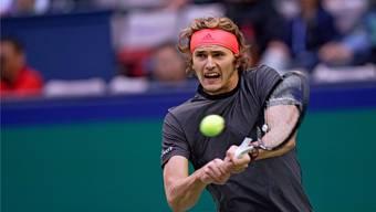 Alexander Zverev hofft an den Swiss Indoors Basel auf eine Partie gegen Federer.