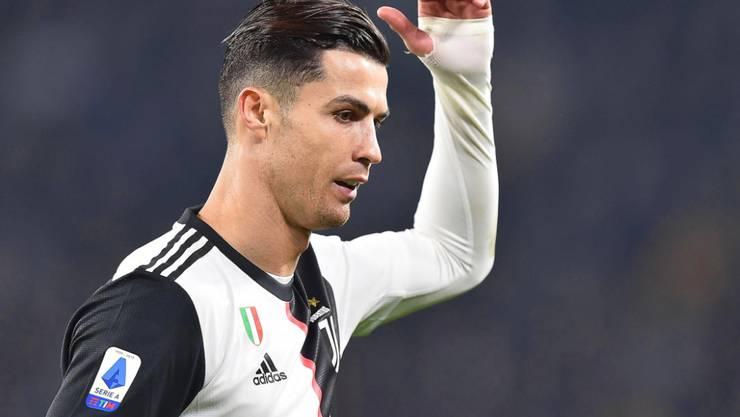 Cristiano Ronaldo läuft es momentan nicht optimal
