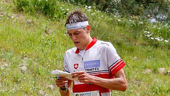 Matthias Kyburz lief auf den guten fünften Rang.