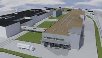 57-Millionen-Projekt: Visualisierung des Neubaus in Gränichen.