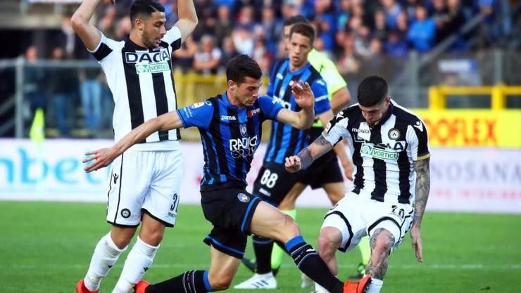 Atalanta Bergamo und Remo Freuler stiessen dank dem 2:0 gegen Udinese in der Tabelle der Serie A auf Platz 4 vor