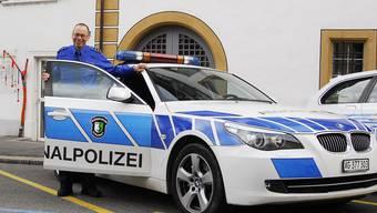 Repol-Chef René Lippuner und sein Team kümmern sich im Bezirk um die Sicherheit der Bevölkerung. (Archiv)