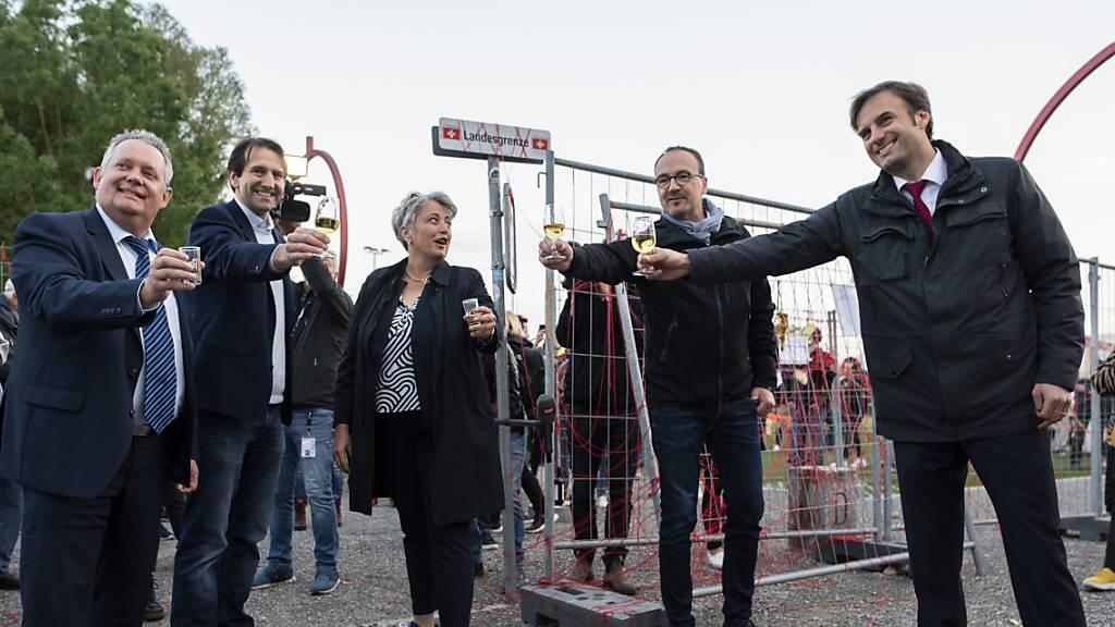 Kreuzlingen und Konstanz setzen sich für offene Grenzen ein