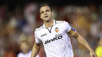 Roberto Soldado erzielte Spaniens Siegtreffer kurz vor Spielende.