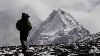 Himalaya: Aargauer Bergsteiger treffen im Hochlager auf 5500 Metern Höhe ein