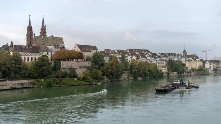 Die Heimatstadt: In Basel hat Federer noch immer Freunde und Familie.
