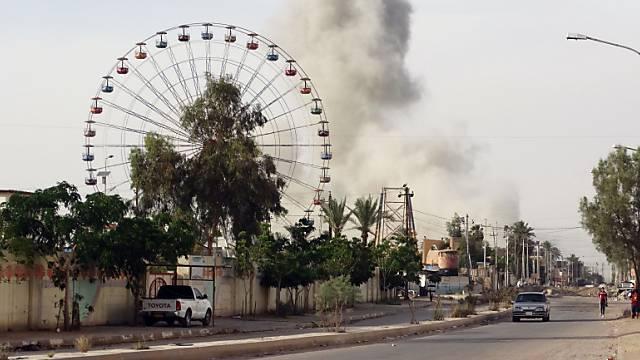 Flucht aus Ramadi: Die Stadt im Irak ist Schauplatz schwerer Kämpfe