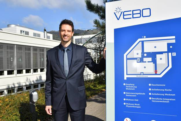 Marc Eggiman, Vebo-Direktor.