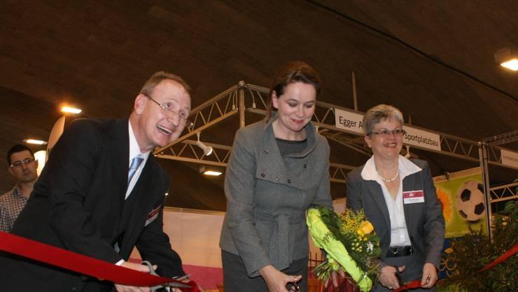 Christiane Ern, Chefin Hochbau/Energie Stadt Solothurn, (Mitte) kann ab Sommer ihre Aufgaben im Hochbau nicht mehr wahrnehmen. ak