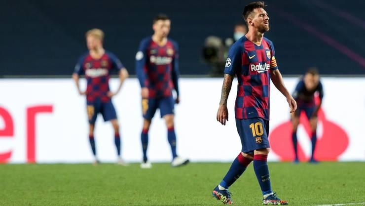 Die Anzeichen verdichten sich, dass Superstar Lionel Messi Barcelona verlassen könnte.