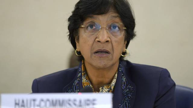 UNO-Hochkommissarin für Menschenrechte Navi Pillay