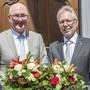 Isaac Reber (l.) ist neuer Regierungspräsident, Peter Riebli Landratspräsident.