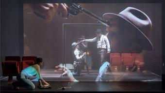 Film und Theater in einem. Das ist «Kino Marie».Andreas Zimmermann