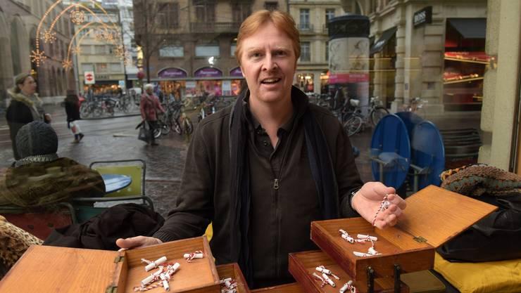 Im Nähkästchen der Schweiz am Wochenende haben sich ein paar festliche Begriffe versteckt. Michael Clark hat «Jingle Bells» erwischt.