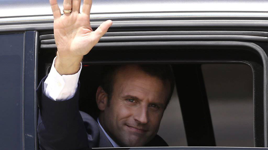Verärgerte innert kurzer Zeit einen Teil seiner Landsleute: Frankreichs Staatspräsident Emanuel Macron. (Archivbild)