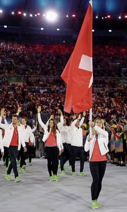 Bei den Spielen 2016 in Rio de Janeiro führte Giulia Steingruber die Schweizer Delegation an. Gut möglich, dass die nächsten Olympischen Spiele erst 2021 stattfinden.