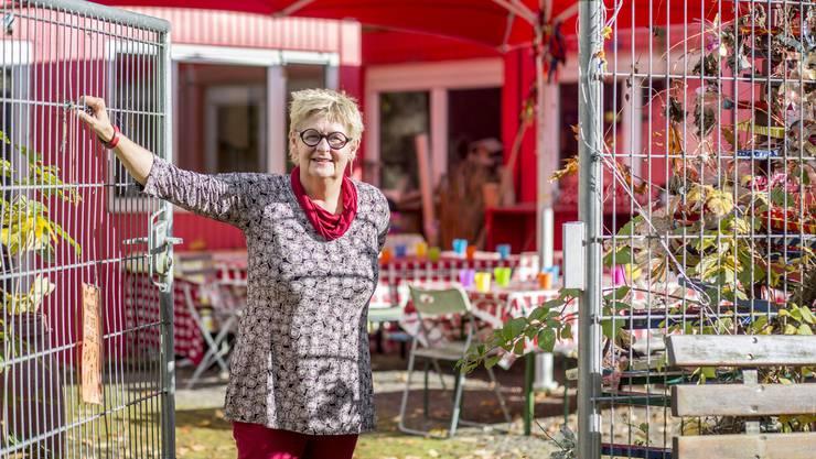 Guda Hess gibt die Geschäftsleitung der Solothurner Quartierspielplätze Ende November 2017 ab.
