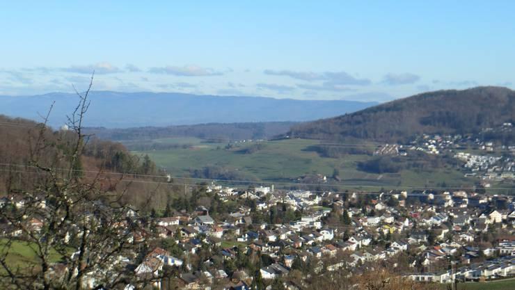 Der Blick auf Frenkendorf