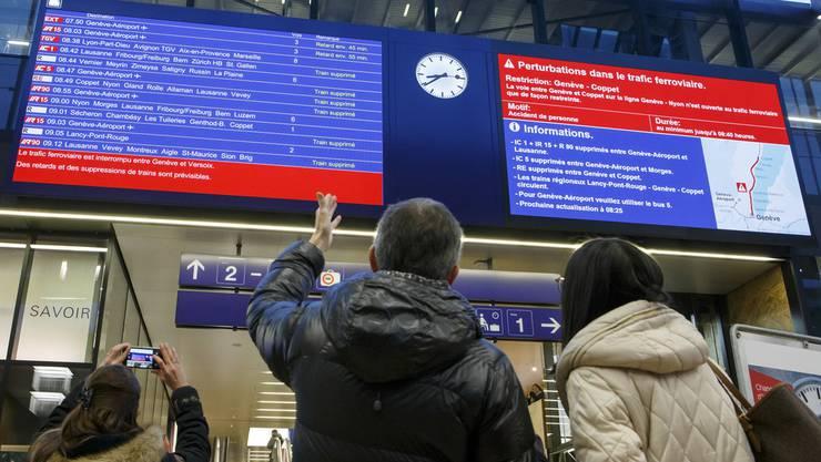 Von den Entschädigungen bei Verspätungen dürften die wenigsten Zugreisenden profitieren. (Archivbild)