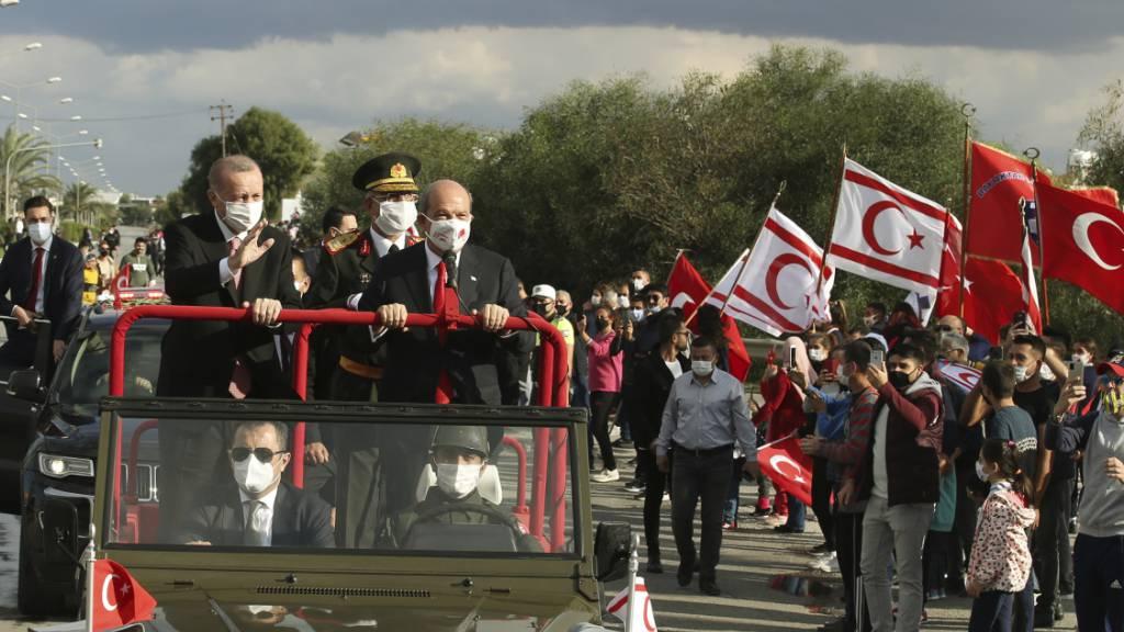 Erdogan besucht Geisterstadt Varosha - Kritik aus Nikosia