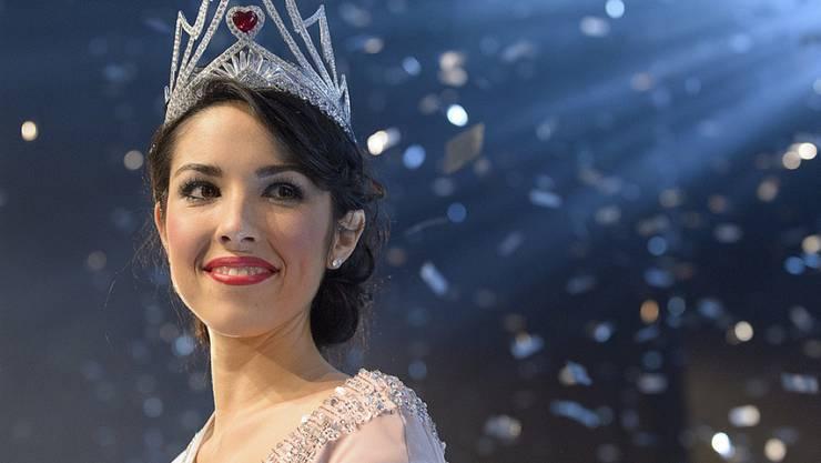 Miss Schweiz Lauriane Sallin hat was auf dem Kasten und eine dezidierte Meinung - in die Politik zu gehen, hat sie aber nach sorgfältigem Erwägen verworfen (Archiv 7.11.)