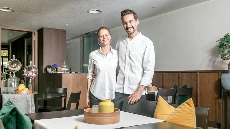 Das Ehepaar Alexandra und Manuel Steigmeier in ihrem Restaurant Fahr. (Archiv)