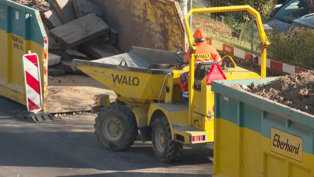 Unia wirft Baustellen Pfusch bei Corona-Massnahmen vor