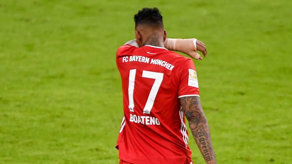 Jérôme Boateng und seine Bayern-Kollegen konnten «Lieblingsgegner» Werder Bremen für einmal nicht schlagen.
