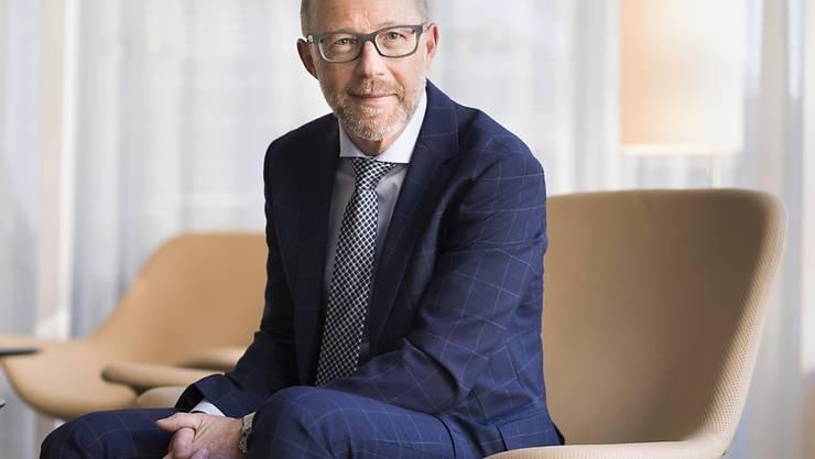 Raiffeisen-Chef Heinz Huber kann trotz verlangsamten Wachstums im Hypothekarbereich ein solides Jahresergebnis für seine Bankengruppe ausweisen. (Archivbild)