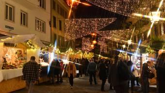 2. Oltner Weihnachtsmarkt in der Altstadt
